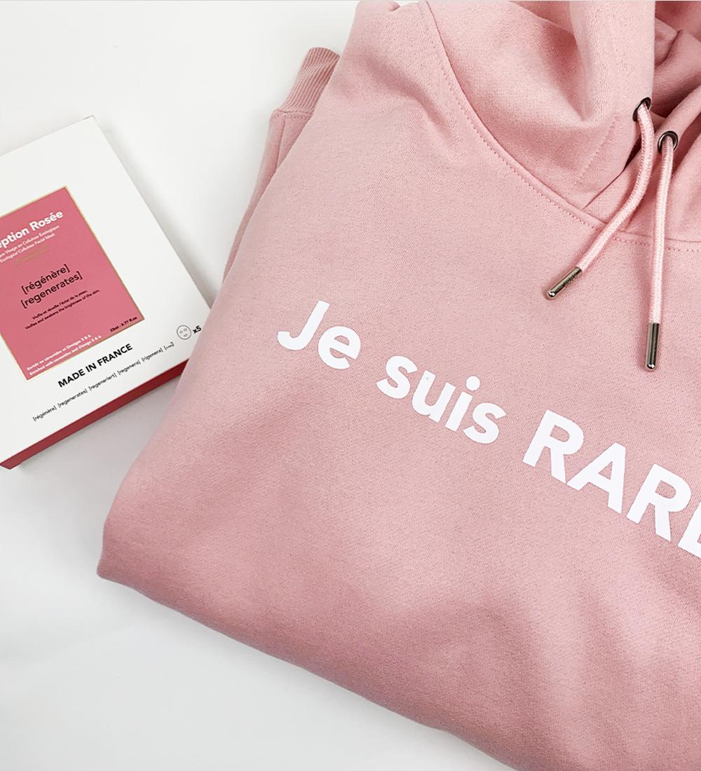 Set hoodie Exception Rosée