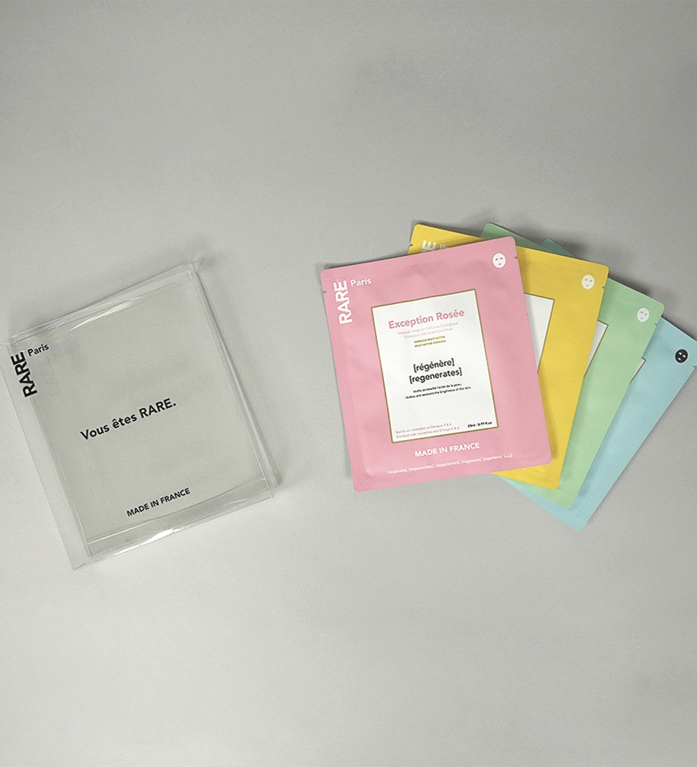 Discovery box - 4 face masks