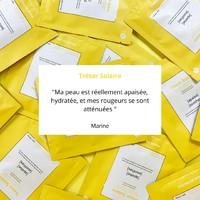 Trésor Solaire aide aussi votre peau l'hiver 💛   #skincare #facemask #sheetmask #moisture #jesuisrare